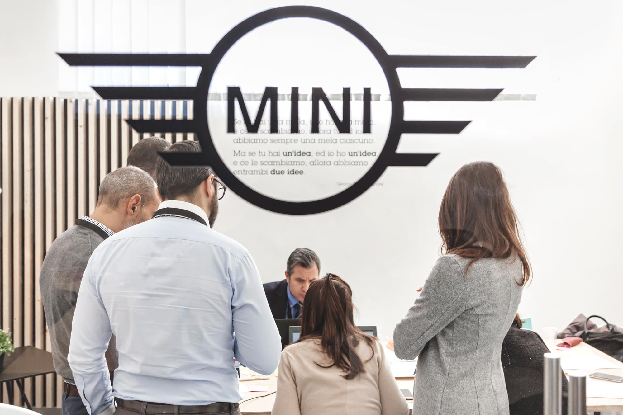 Mini meeting room
