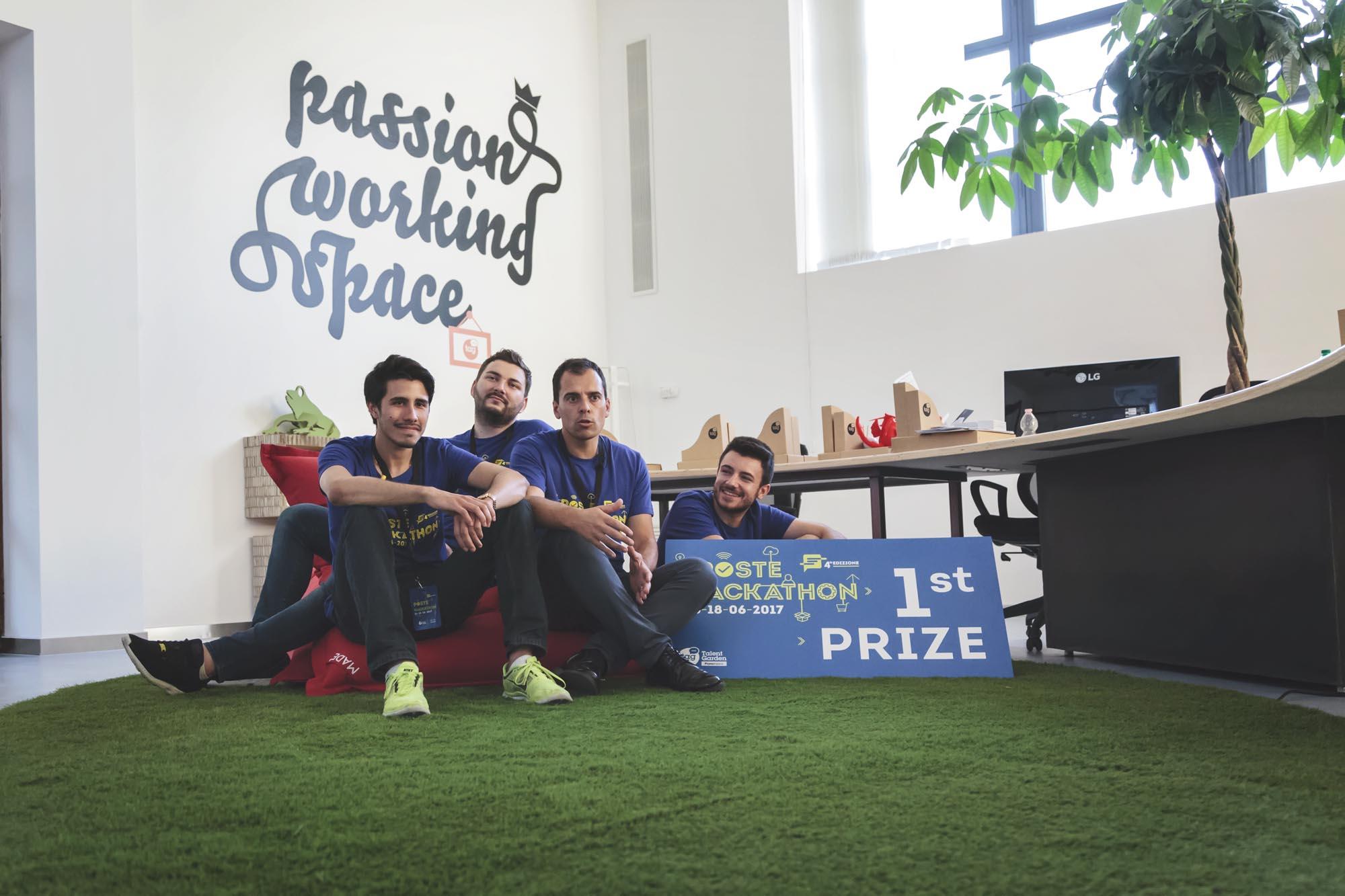 Intervista vincitori Poste Hack 4